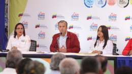 Tareck El Aissami en Expo Cojedes