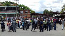 Guarenas-protesta