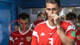 equipo ruso inhala sustancia antes de partido