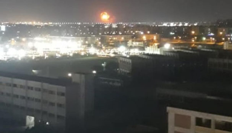 explosion en base militar del cairo