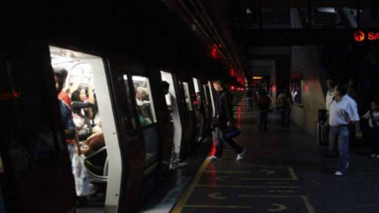 metro sin luz