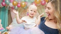 niña con cancer