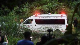 niños rescatados en tailandia