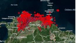 Venezuela Temblor 21 de agosto de 2018