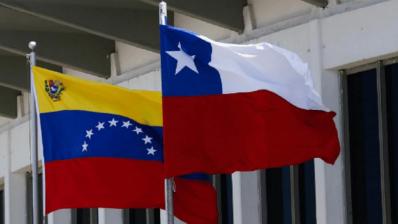 bandera de chile y venezuela