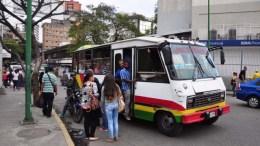 transporte publico venezolano