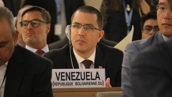 jorge arreaza venezuela