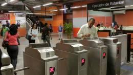 torniquetes Metro de Caracas