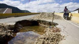 agujero en puente de la yaguara