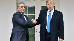 Iván-Duque-Donald-Trump