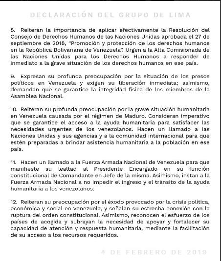 declaracion grupo de lima sobre venezuela 3