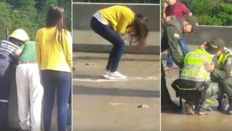 suicidio mujer con hijo en colombia