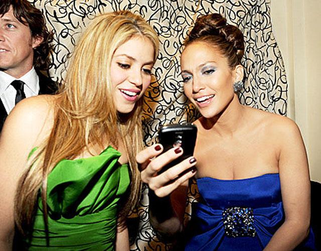La foto inédita de Shakira y Jennifer López de los años 90, que las deja al descubierto