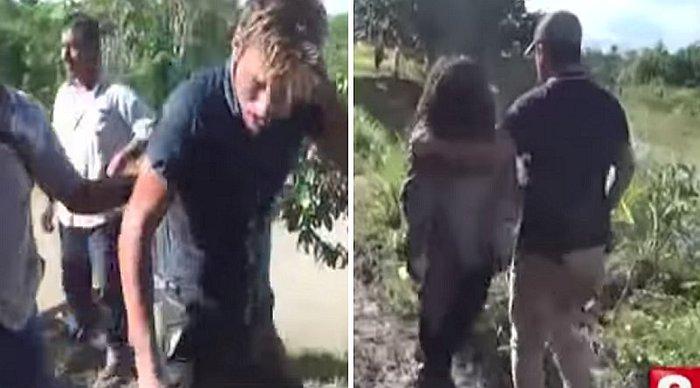 Capturan a venezolano cuando raptaba a una niña de 10 años en Perú (Imágenes)