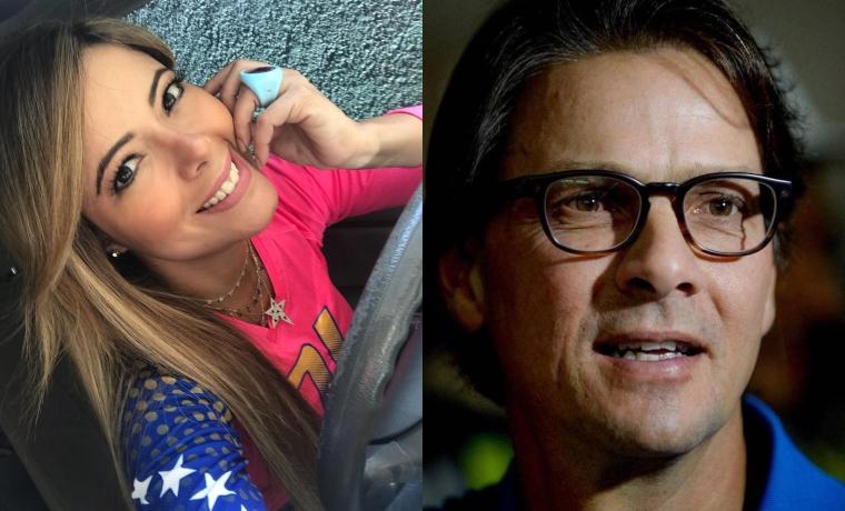 El intrigante encuentro entre Rebeca Moreno y Lorenzo Mendoza (Imágenes)