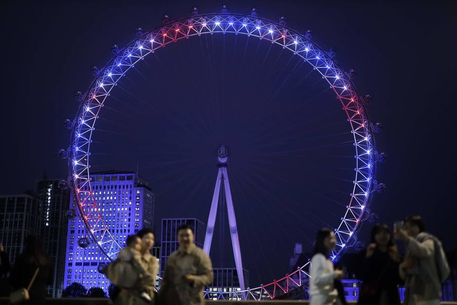 London Eye iliminado por bebe real
