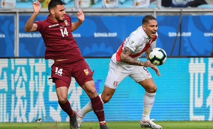 Copa america Vinotinto Vs Peru