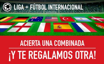 Sportium combinada liga + internacional