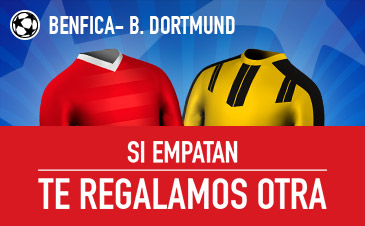 Sportium devolución Benfica Dortmund