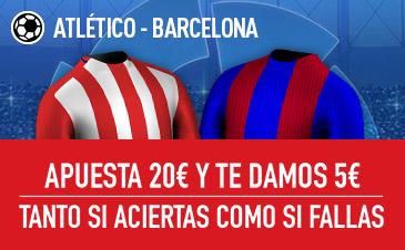 Sportium la liga atletico barcelona