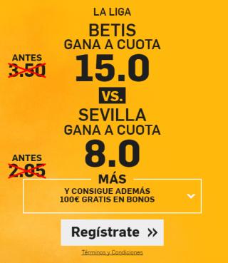 Supercuota Betfair Betis vs Sevilla