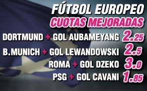 Wanabet futbol europeo supercuotas