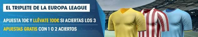 europa league triplete