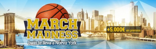 March Madness NY Bwin
