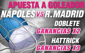 Promo goleador Wanabet Napoles vs R. Madrid