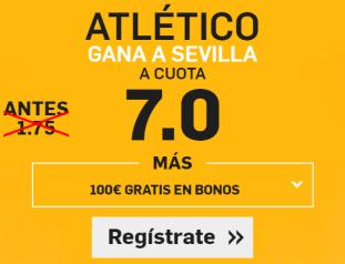 Supercuota Betfair Atlético Sevilla