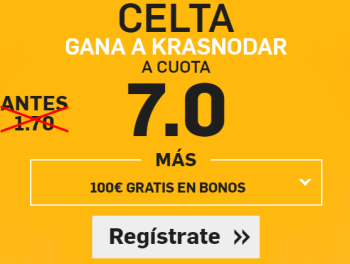 Supercuota Betfair Europa League Celta