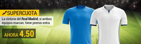 Supercuota Real Madrid Nápoles BWIN