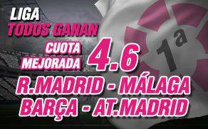 Wanabet La Liga Todos ganan Cuota mejorada 4.6