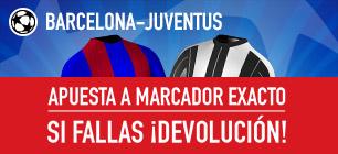 Sportium Champions Barcelona Juventus Devolucion