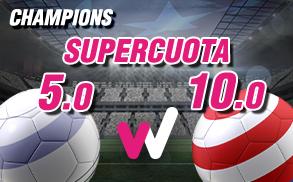 Wanabet Supercuota Champions