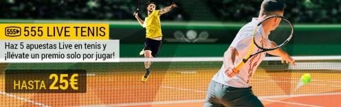 Bwin 555 live tenis