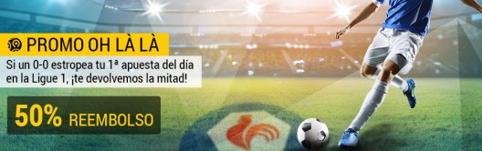 Bwin Ligue 1 50% reembolso