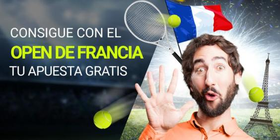 Luckia apuesta gratis apostando en vivo Open de Francia