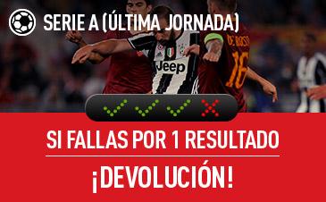 Sportium Serie A devolucion combinadas