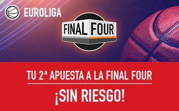 Sportium euroliga final four segunda apuesta sin riesgo