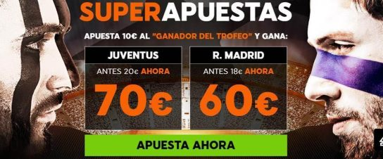 Supercuota 888sport Juventus - Real Madrid