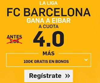 Supercuota Betfair Barcelona Eibar