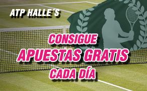 Wanabet ATP Halle's Consigue Apuestas Gratis
