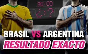 Wanabet Brasil Argentina resultado exacto