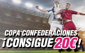 Wanabet Consigue 20€ en la Copa Confederaciones