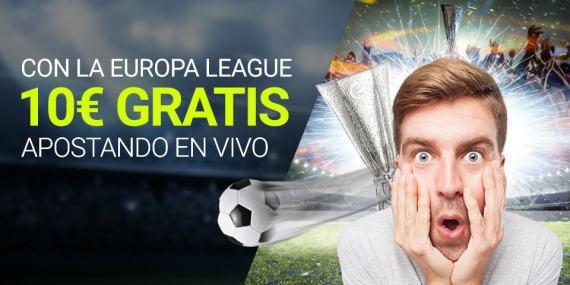 Luckia 10€ gratis con la Europa League
