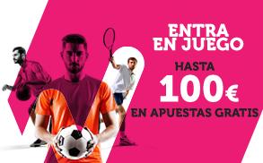 Wanabet hasta 100€ en Apuestas Gratis