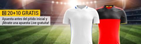 Bwin Grecia - Bélgica 20+10