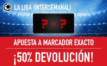 Sportium la Liga INTERSEMANAL 50% devolucion