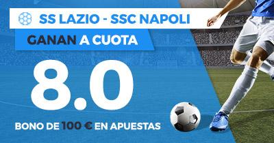 Supercuota Paston Lazio - Napoli